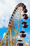 vertikalt siktshjul för ferris Arkivfoto