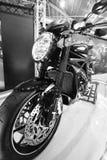 Vertoning 2 van Motorcyle Stock Afbeelding
