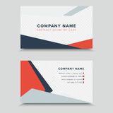 Vertor Visit Card. Business Card Template Design. Vertor Visit Card Template Design Royalty Free Stock Images