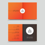 Vertor Visit Card Template Design. Vertor Visit Card Template Design Stock Image