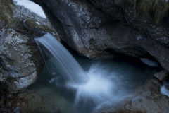 Vertova waterfall stock photos