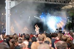 Vertrag - Amphi Festival Lizenzfreies Stockbild