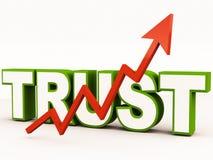 Vertrauen vektor abbildung