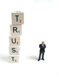 Vertrauen Stockfotos