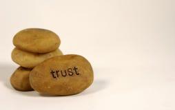 Vertrauens-Fossil Stockfoto
