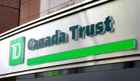 Vertrauens-Zeichen TD-Canda Lizenzfreie Stockfotografie