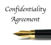 Vertrauensabkommen lizenzfreies stockfoto
