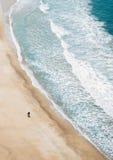 Vertraulich mit dem Ozean Lizenzfreies Stockbild
