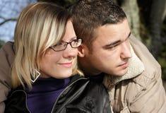 Vertraute Paare Stockfotos