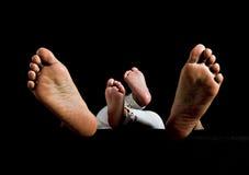 Vertraute Zeit: Baby und Mutter lizenzfreies stockbild