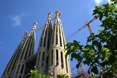 Vertrautes Barcelona-Sagrada Lizenzfreie Stockfotografie