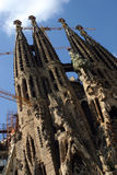 Vertrautes Barcelona-Sagrada Lizenzfreie Stockfotos
