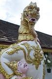 Vertretung des traditionellen Naga im chiangmai Stockbild
