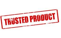 Vertrouwd op product royalty-vrije stock afbeelding