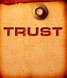 Vertrouwen Royalty-vrije Stock Afbeeldingen