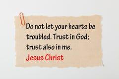 Vertrouwen in god royalty-vrije stock foto