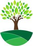 Vertrouwensboom stock illustratie
