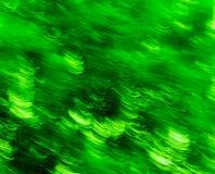 Verts abstraits Photos stock