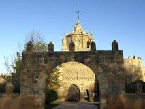 Veruela monastery in Aragon Royalty Free Stock Photos