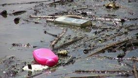 Verunreinigte Umwelt Stockbild