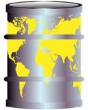 Verunreinigung der Planetenerde Stockbild