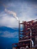 Verunreinigungsfabrik Stockbild