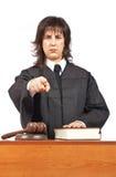 Verurteilung Stockbild