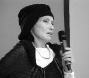 Veruschka (Vera Lehndorff) in Moscow Stock Photo