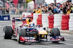 Verva gata Racing Royaltyfria Bilder