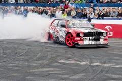 Verva gata Racing Arkivbilder