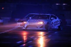 Verva gata Racing Arkivfoton