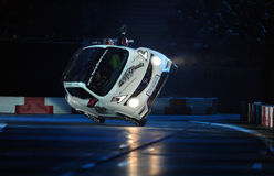 Verva gata Racing Royaltyfri Foto