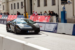 VERVA Street Racing show in Warsaw, Poland Royalty Free Stock Images