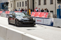 VERVA Street Racing show in Warsaw, Poland Stock Image