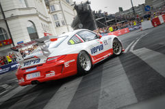 VERVA Street Racing in Warsaw, Poland Royalty Free Stock Image