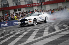 VERVA Street Racing in Warsaw, Poland Royalty Free Stock Image