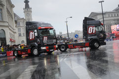 VERVA Street Racing in Warsaw, Poland Royalty Free Stock Photography