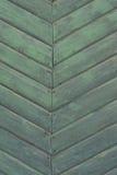 Vervallen groene Oude Houten Achtergrond Royalty-vrije Stock Afbeelding