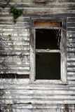 Vervallen oud venster Stock Fotografie