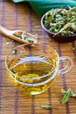 Verveine Tea or Verbena Tea Royalty Free Stock Images