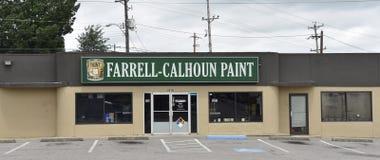 Verven farrell-Calhoun stock afbeeldingen