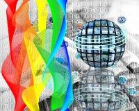 Verven van Internet Stock Foto's