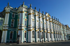 Övervintra slotten, St Petersburg Royaltyfri Fotografi