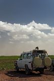 Vervoer 005 safarivoertuig Stock Fotografie
