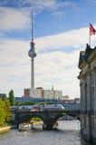 Vervoer in Berlijn Stock Foto