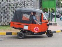 Vervoer in Djakarta Royalty-vrije Stock Afbeelding