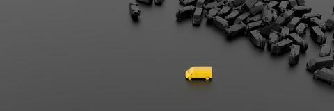 vervoer en het verschepen Stock Afbeeldingen