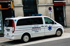 Vervoer in Frankrijk stock fotografie