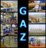 Vervoer van gas Royalty-vrije Stock Afbeeldingen
