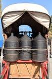 Vervoer van trommels Royalty-vrije Stock Foto